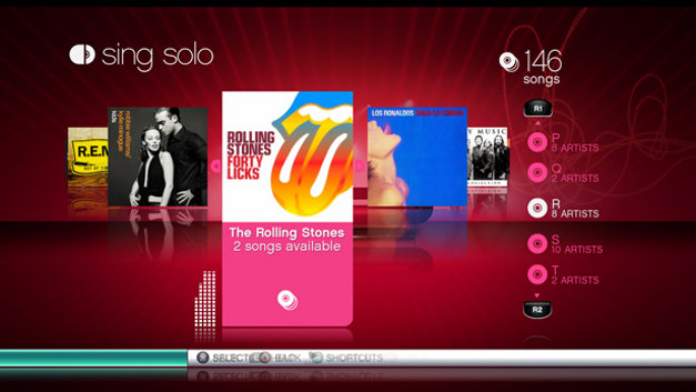 Singstar™ Screenshot 1