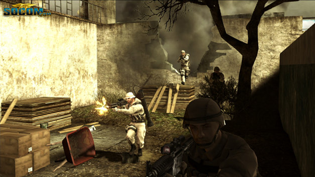 SOCOM: U.S. Navy SEALs Confrontation (Game Only) Screenshot 13