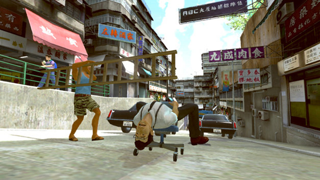 Kung Fu Rider™ Screenshot 1