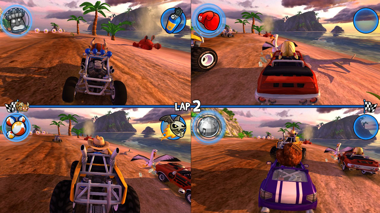 Beach Buggy Racing Game | PS4 - PlayStation