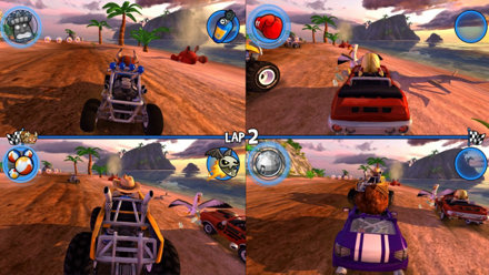 Beach buggy racing game ps4 playstation