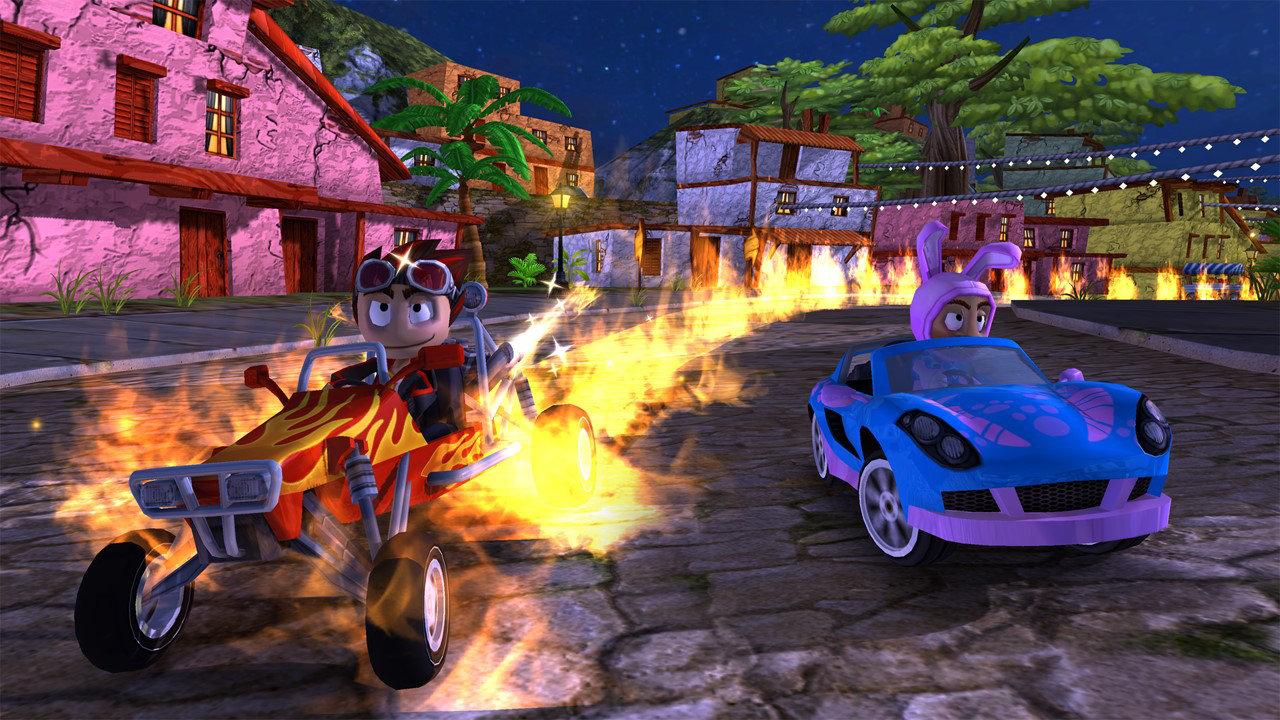 Beach Buggy Racing Game Ps4 Playstation Kaset Bd Dirt Rally Reg 2 Screenshot 8
