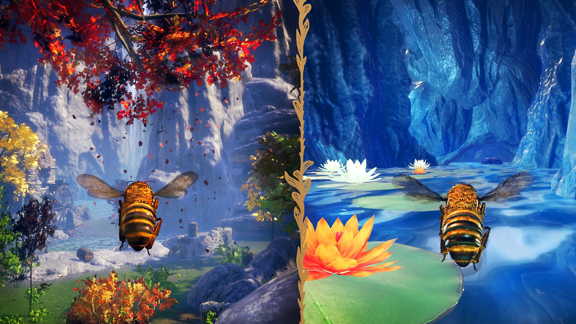 Bee Simulator - Split Screen
