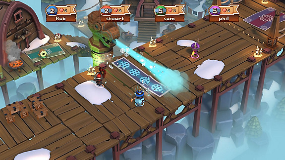 BIG CROWN: SHOWDOWN - Screenshot INDEX