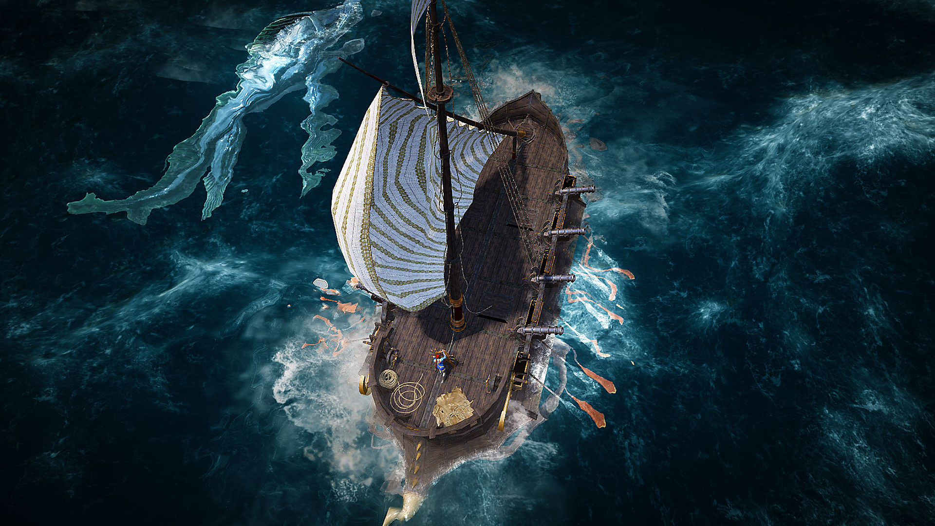 Black Desert screenshot - Boat in the water