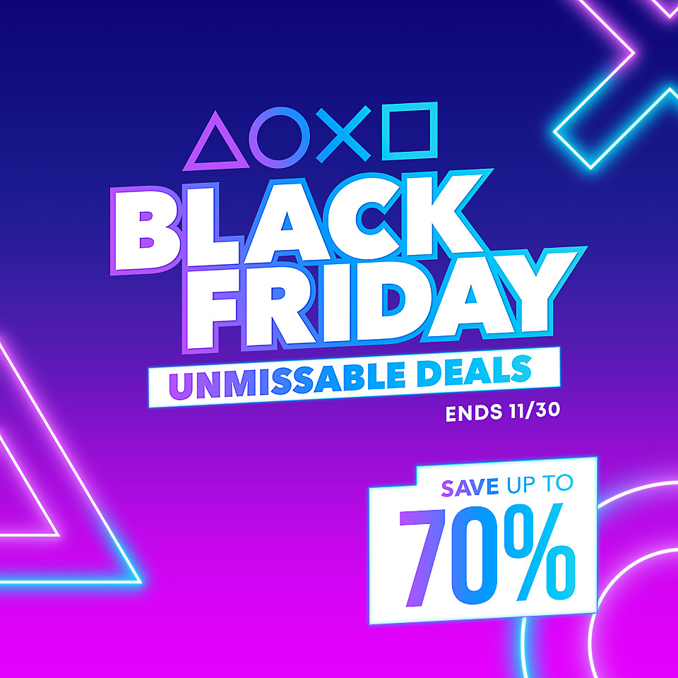 PlayStation Store - Black Friday Sale