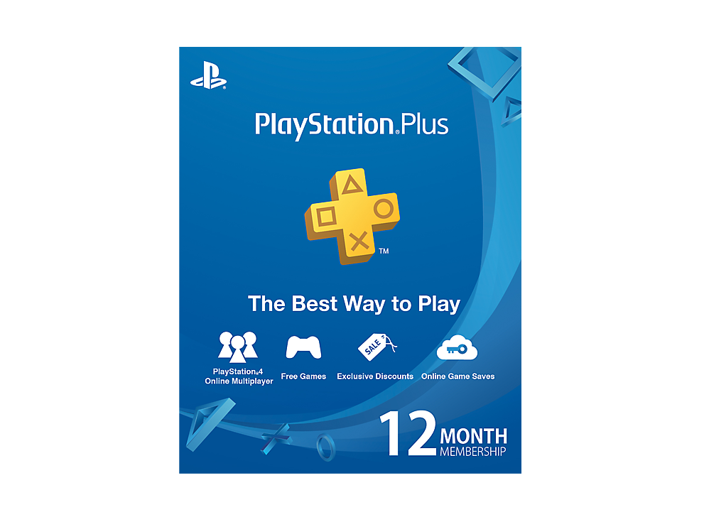 PS Plus Card