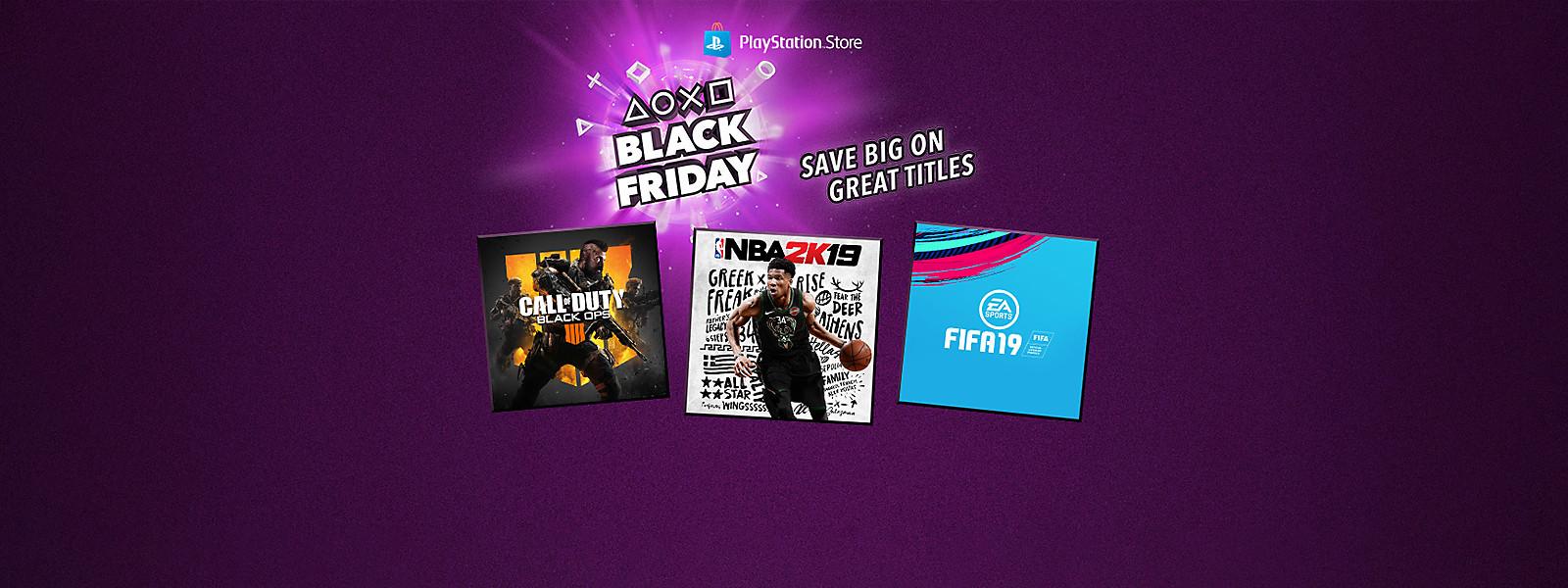 Black Friday Week Playstation