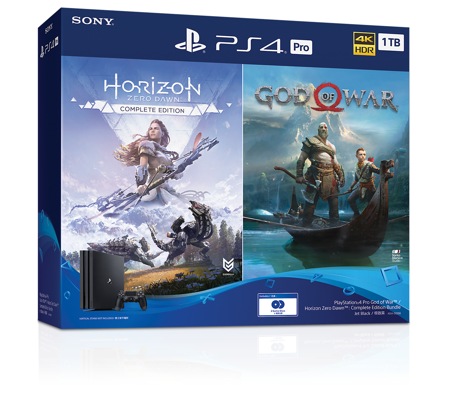 PlayStation 4 Pro God of War / Horizon Zero Dawn : Complete Edition Bundle