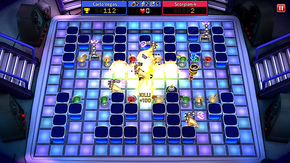Blast Zone! Tournament screenshot