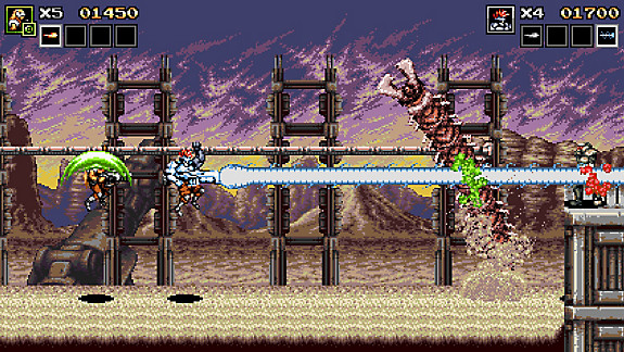 Blazing Chrome - Screenshot INDEX