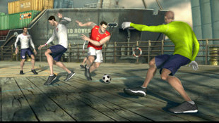 FIFA Street 3 Screenshot 2