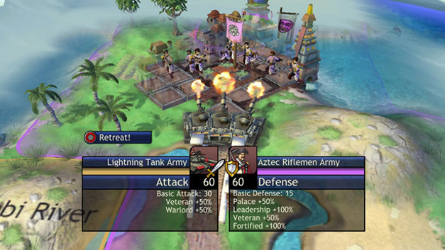 Sid Meier's Civilization Revolution Screenshot 7