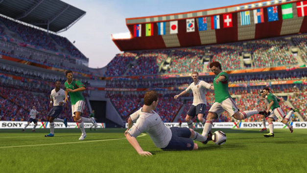 EA SPORTS 2010 FIFA World Cup South Africa™ Screenshot 1