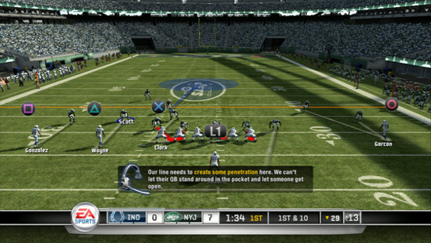 Madden NFL 11 Screenshot 1
