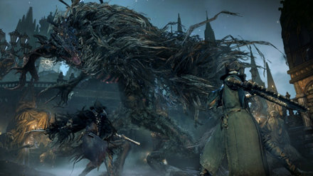 Bloodborne puts you against massive foes with lethal attacks