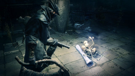 Bloodborne messengers let you communicate with other players