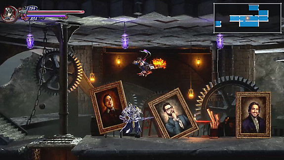 Bloodstained: Ritual of the Night - Screenshot INDEX