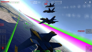 Blue Angels Aerobatic Flight Simulator Screenshot 2