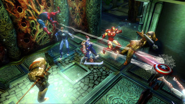 Marvel™: Ultimate Alliance Screenshot 4