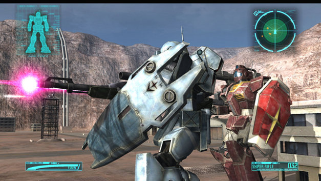 Mobile Suit Gundam: CROSSFIRE Screenshot 1