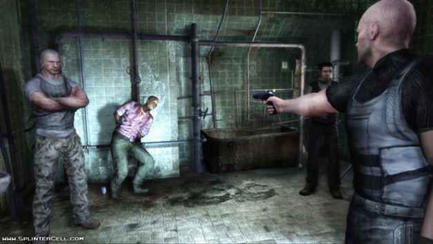 Tom Clancy's Splinter Cell Double Agent Screenshot 1