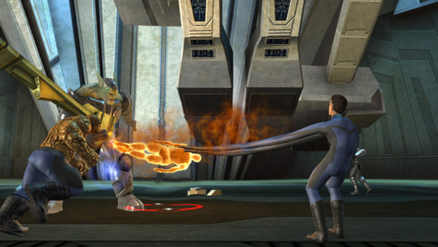Fantastic 4: Rise of the Silver Surfer Screenshot 1