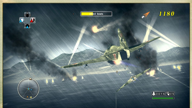 Blazing Angels 2: Secret Missions of WWII Screenshot 1