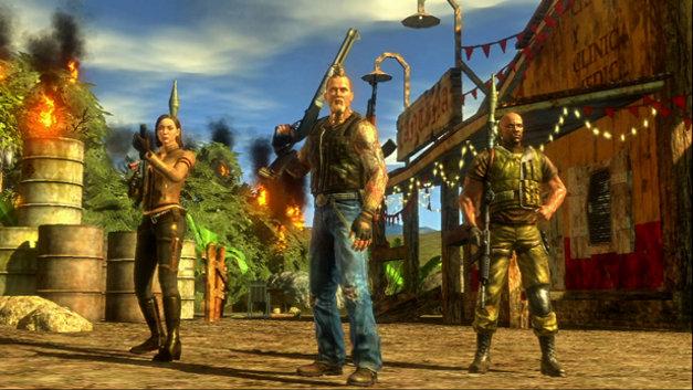 Mercenaries 2 World In Flames Game Ps3 Playstation