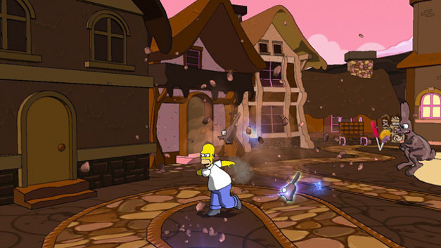 The Simpsons Game Screenshot 7