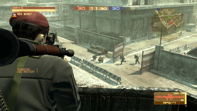 Metal Gear Online Screenshot 1