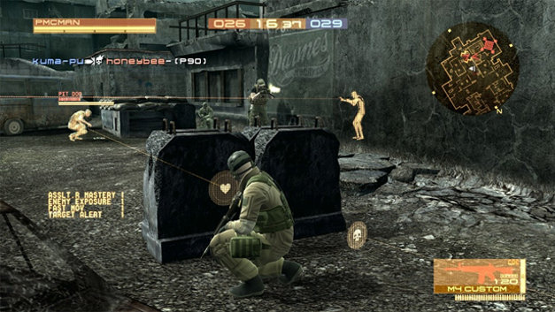 Metal Gear Online Screenshot 4