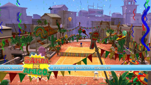 Sega Superstars Tennis Screenshot 2