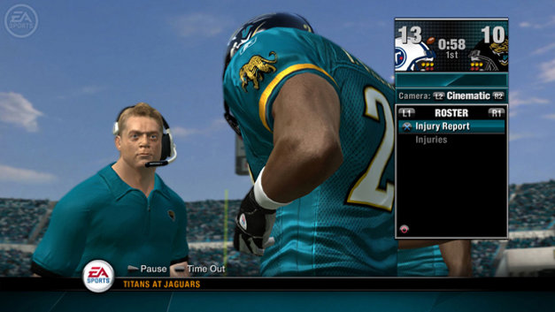 NFL Head Coach 09 Screenshot 1