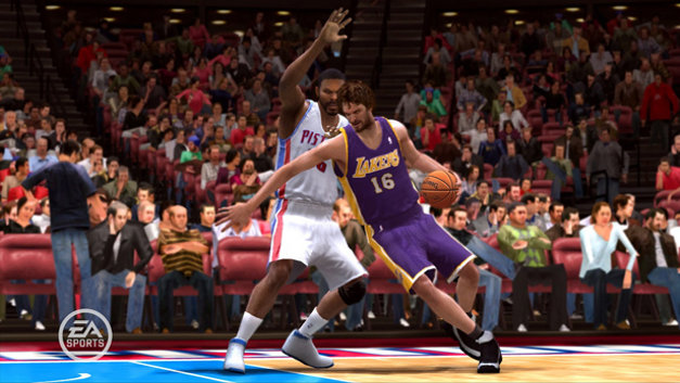 NBA Live 09 Screenshot 1