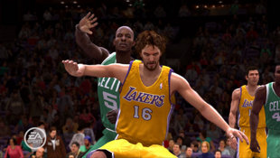 NBA Live 09 Screenshot 2
