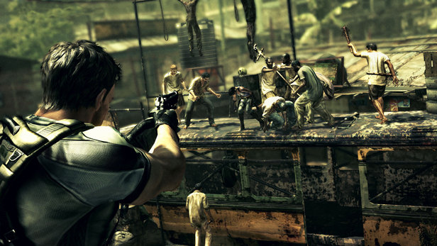 Resident Evil 5 Game Ps3 Playstation
