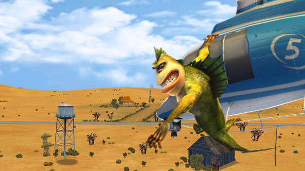 Monsters vs. Aliens Screenshot 4