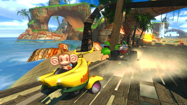 Sonic & Sega All-Stars Racing™ Screenshot 1
