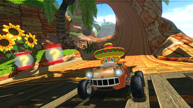 Sonic & Sega All-Stars Racing™ Screenshot 4