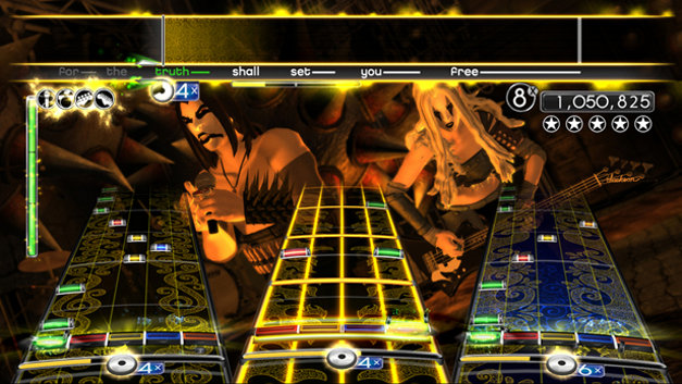 Rock Band®  Metal Track Pack™ Screenshot 1