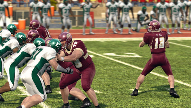 NCAA Football 10 Screenshot 1