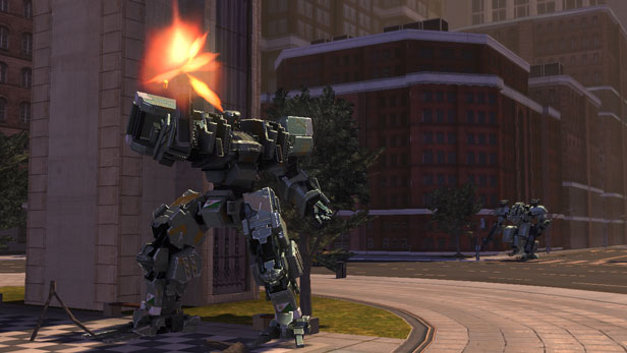 Front Mission Evolved™ Screenshot 1