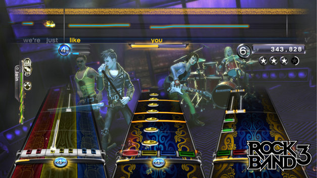 Rock Band™ 3 Screenshot 1