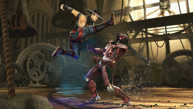 Mortal Kombat vs DC Universe Screenshot 1