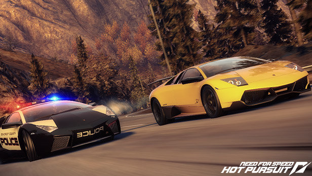Need For Speed Hot Pursuit Game Ps3 Playstation