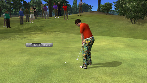 John Daly's ProStroke Golf Screenshot 1