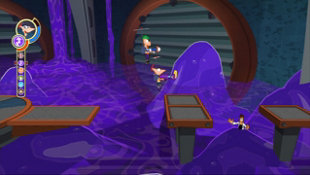 Phineas and Ferb: Across the 2nd Dimension Screenshot 3