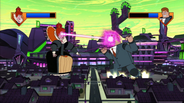 Phineas and Ferb: Across the 2nd Dimension Screenshot 10