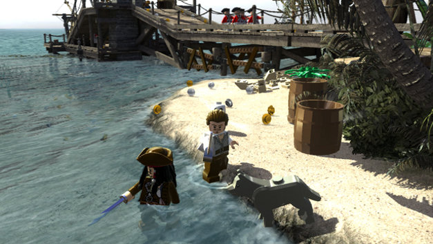 LEGO® Pirates of the Caribbean: The Video Game Screenshot 1